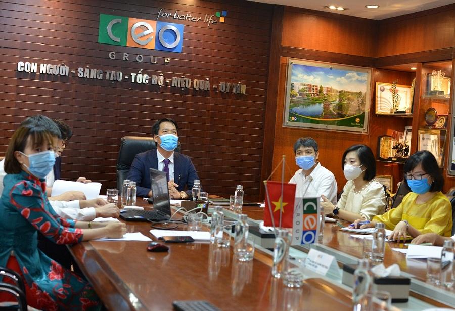 Tập đoàn CEO ký kết hiệp định hợp tác với thành phố Kobe (Nhật Bản) - Tập đoàn CEO