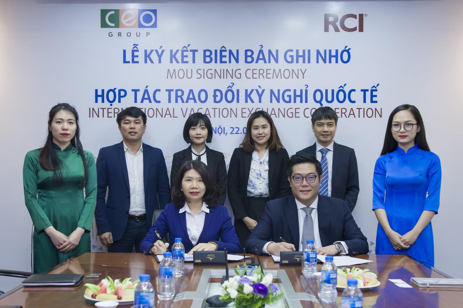 Tập đoàn CEO tiến tới hợp tác trao đổi kỳ nghỉ cùng RCI - Tập đoàn CEO