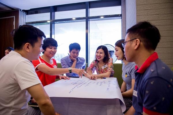 CBNV Tập đoàn CEO hào hứng với chương trình đào tạo nội bộ - Tập đoàn CEO