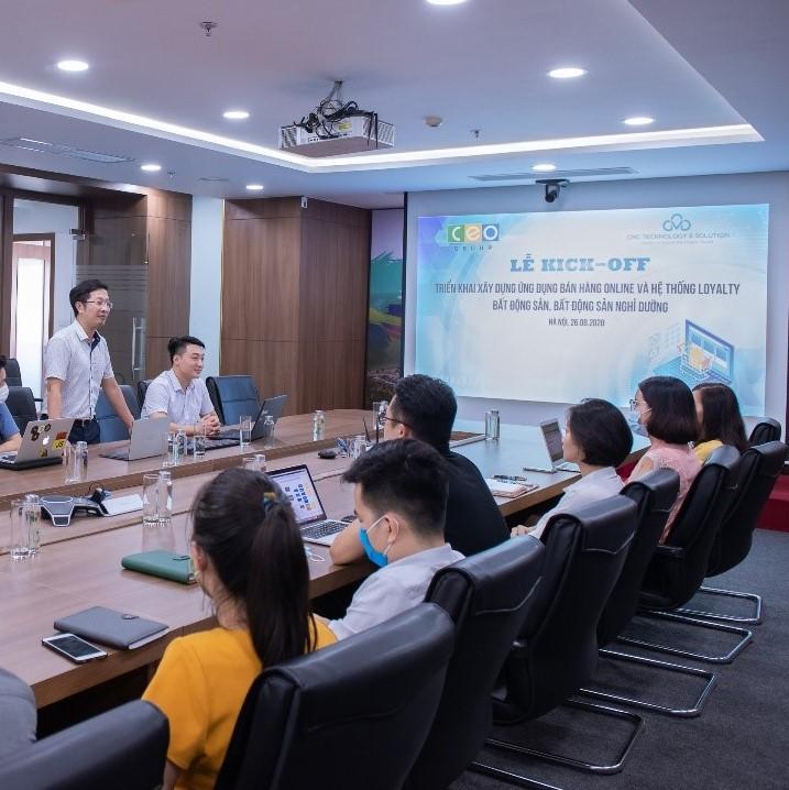 Tập đoàn CEO kết nối công nghệ, đón đầu xu thế 4.0 với hệ thống E-Commerce và Loyalty - Tập đoàn CEO
