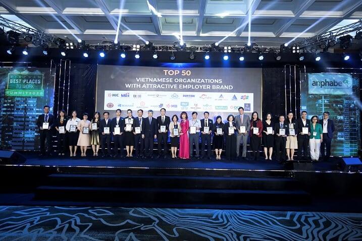 Tập đoàn CEO lọt Top 50 doanh nghiệp Việt có thương hiệu nhà tuyển dụng hấp dẫn - Tập đoàn CEO