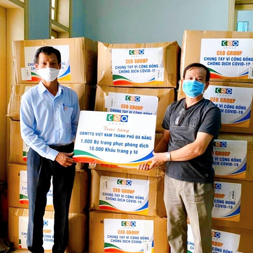 Tập đoàn CEO chung tay cùng Đà Nẵng phòng chống dịch bệnh Covid-19 - Tập đoàn CEO