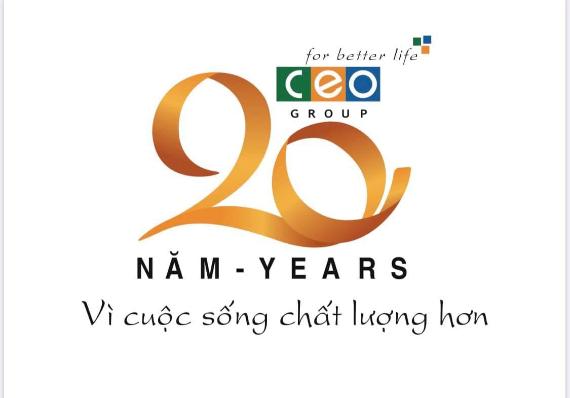Giới thiệu Logo chào mừng 20 năm thành lập CEO Group - Tập đoàn CEO