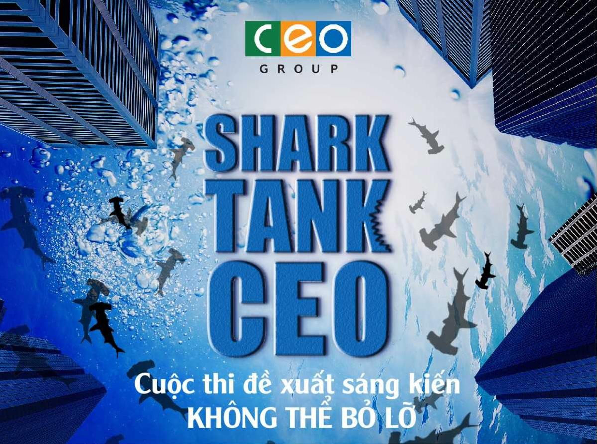 Tập đoàn CEO phát động cuộc thi 'SharkTank-CEO' với tổng giá trị giải thưởng tới 40 triệu đồng - Tập đoàn CEO