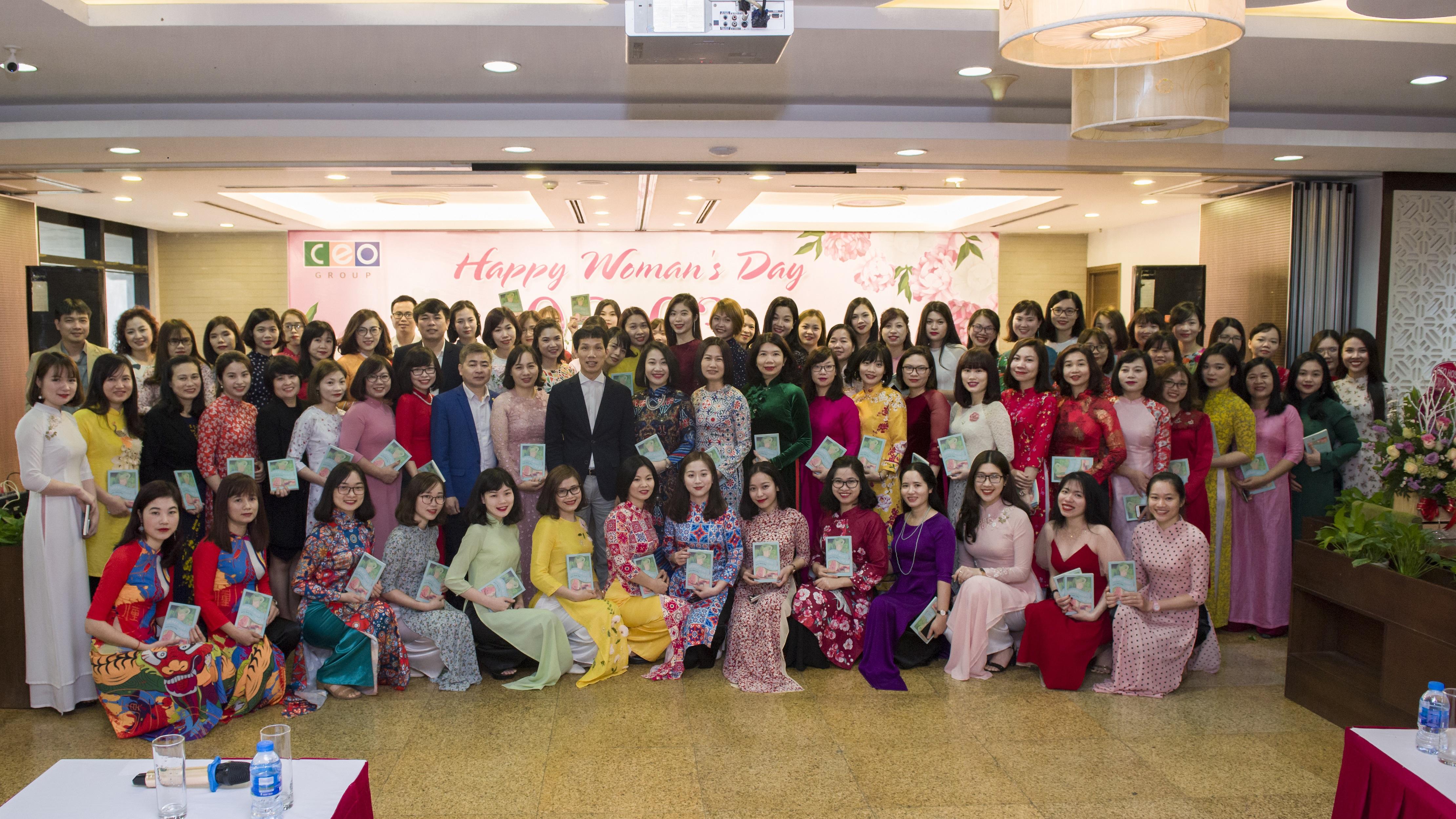 Tập đoàn CEO tôn vinh CBNV nữ nhân ngày Quốc tế Phụ nữ 8-3 - Tập đoàn CEO