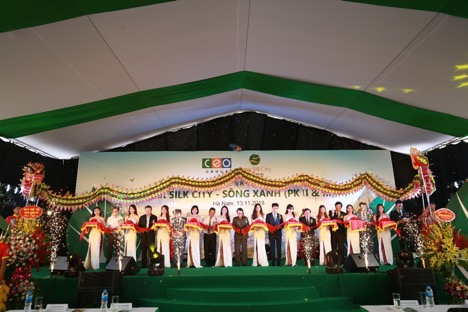 Tập đoàn CEO tổ chức Lễ khánh thành Hạ tầng kỹ thuật dự án River Silk City - Sông Xanh - Tập đoàn CEO