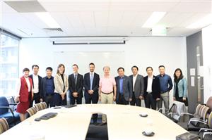 Đại diện Tập đoàn CEO cùng đoàn Hiệp hội BDS VN khảo sát công trình xanh tại Australia - Tập đoàn CEO