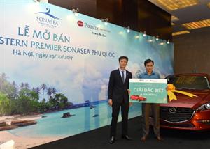 Giải thưởng Mazda 3 Sedan cho khách mua condotel Tập đoàn CEO - Tập đoàn CEO