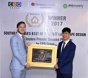 Dự án Best Western Premier Sonasea Phu Quoc được vinh danh giải thưởng thiết kế cảnh quan đẹp nhất t - Tập đoàn CEO