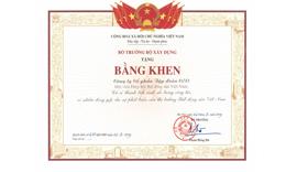 Đơn vị có thành tích xuất sắc trong công tác, có nhiều đóng góp cho sự phát triển của thị trường Bất động sản Việt Nam - Tập đoàn CEO
