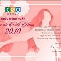 Tập đoàn CEO chúc mừng Ngày Phụ nữ Việt Nam 20-10 - Tập đoàn CEO
