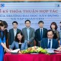 Tập đoàn CEO ký thỏa thuận hợp tác cùng trường Đại học Xây dựng - Tập đoàn CEO