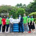 """Triển khai chương trình """"Hạt gạo yêu thương – Sẻ chia cộng đồng"""", Tập đoàn CEO trao tặng 10 tấn gạo cho huyện Vân Đồn - Tập đoàn CEO"""