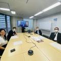 Đại diện Tập đoàn CEO họp trực tuyến với lãnh đạo TP Kobe về việc ký kết hợp tác - Tập đoàn CEO