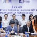 Surbana Jurong thiết kế ý tưởng quy hoạch chi tiết tỷ lệ 1/500 dự án Sonasea Kiên Giang City - Tập đoàn CEO