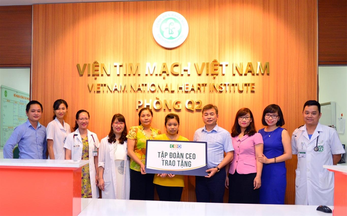 Tập đoàn CEO hỗ trợ phẫu thuật tim cho bệnh nhân nghèo - Tập đoàn CEO