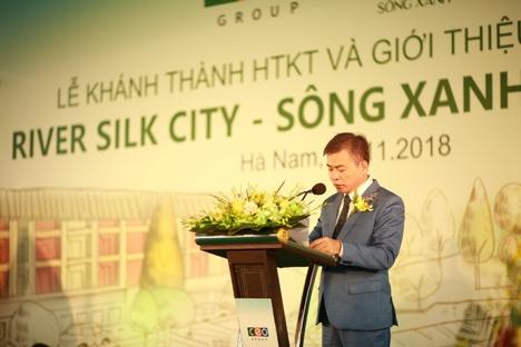 Ông Tạ Văn Tố - Tổng Giám đốc Tập đoàn CEO phát biểu